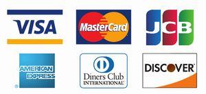 クレジットカード決済できます