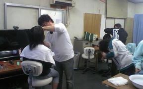 理髪ボランティアの様子03