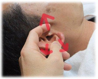 耳穴の広げ方